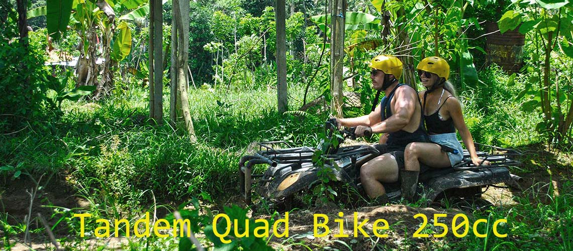 Bali Atv Quad Ride Butterfly Waterfall Adventure Cheapest